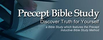 Precept Upon Precept Bible Study