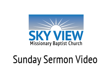Link to This Weeks Sermon Video